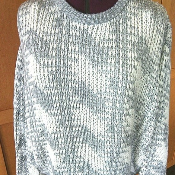 Kazmar Fisherman's Sweater Size Large Pullover Top